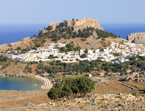 Lindos Half Day from the North