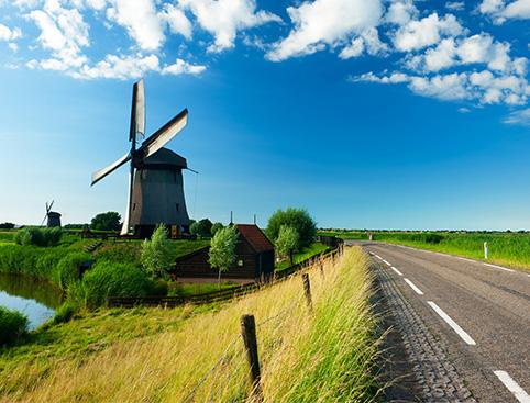 Volendam, Marken, Cheesefactory & Windmills