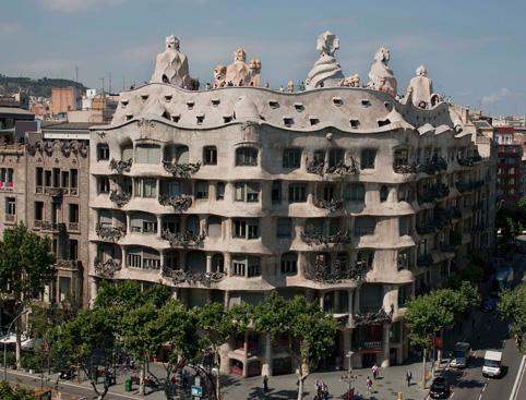 Gaudi's Pedrera - Casa Mila