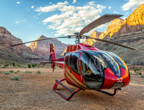 Grand Celebration Helicopter Picnic Tour Sunset + Las Vegas Strip