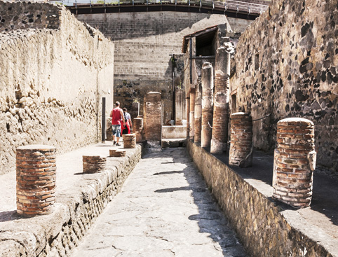 Herculaneum and Vesuvius Full Day Tour