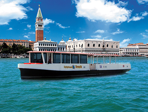 Sightseeing Boat Tour Hop on Hop off Venice
