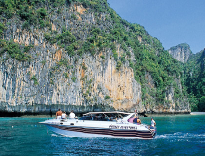 Phang Nga Bay by Speedboat & James Bond Island - From Phuket
