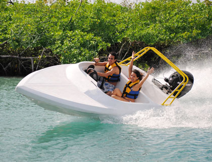 Jungle Speedboat & Snorkeling Tour - Cancun