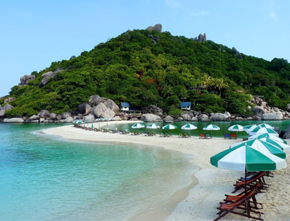Full Day Koh Tao & Koh Nang Yuan Snorklling Tour by Speedboat