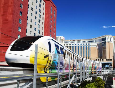 Las Vegas Strip Heli Flight plus FREE Monorail Pass