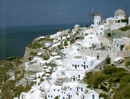 Oia Sunset and Traditional Villages