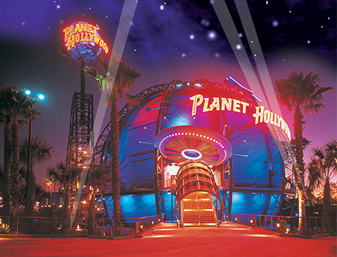 Planet Hollywood Christmas Day 2017