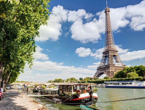 Eiffel Tower, Paris City Tour & Seine Cruise