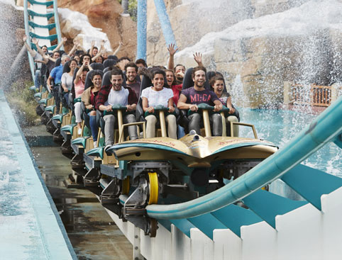 PortAventura World inc Ferrari Land