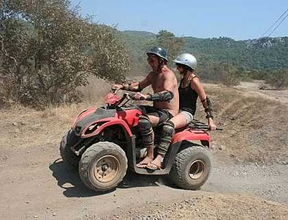 Quad Safari Double (2 people) - from Marmaris