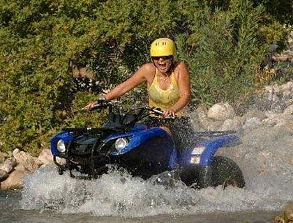 Quad Safari Single (1 person) - from Marmaris