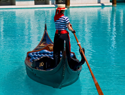 Venetian Gondola Grand Duo & Trio Packages - Las Vegas