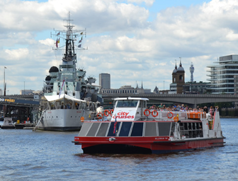 Thames Hop on Hop Off Sightseeing Cruise