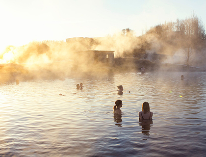 Secret Lagoon Thermal Bath