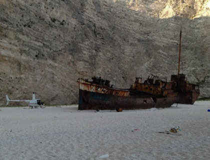 Shipwreck By Helicopter Exclusive Tour