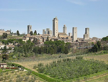 Full Day Siena/San Gimignano & Chianti from Florence