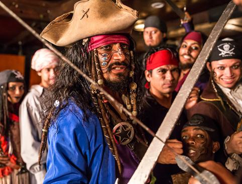 Surf & Turf Dinner, Captain Hook - from Mayan Riviera