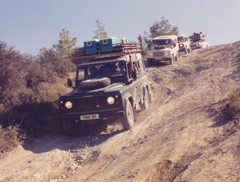 Surf & turf 4X4 Jeep Safari - Cyprus