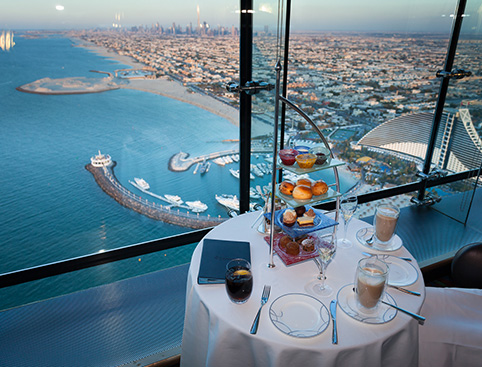 Burj Al Arab Afternoon Tea + Transfers