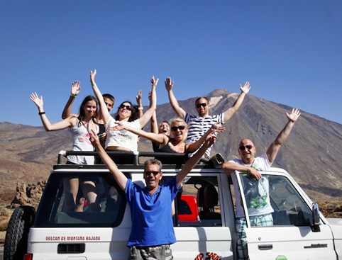 Jeep Safari Tenerife (Teide & Masca)