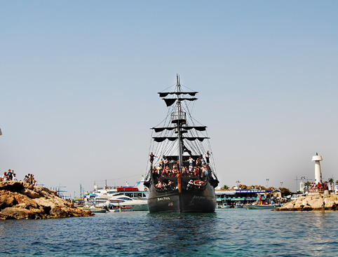 The Black Pearl Pirate Cruise