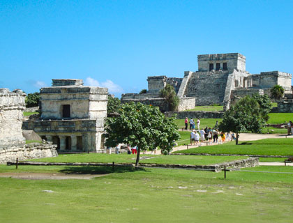 Tulum Ruins and Xel-Ha Eco-Waterpark From Cancun