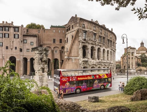 Vatican/Colosseum Skip The Line + 48HR Sightseeing Bus