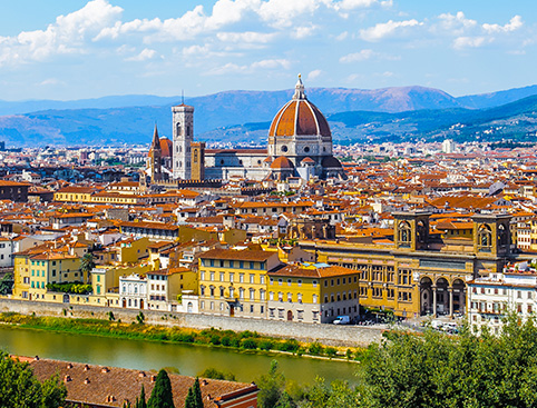 Florence Walking Tour with Aperitif